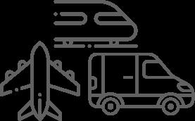 Pictogrammes moyens de transport