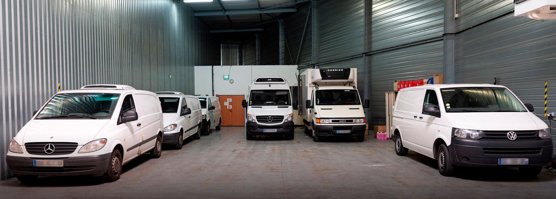 Flotte de véhicules Iso Partner