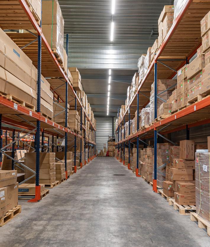 An optimized, dedicated storage area